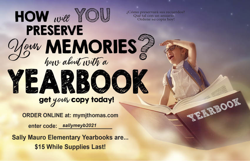 Time to Order Yearbooks!
