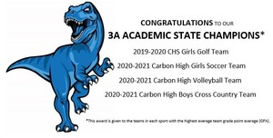 MULTIPLE CARBON TEAMS EARN ACADEMIC STATE CHAMPION HONORS