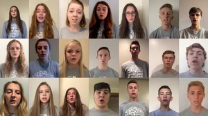 CHS VOCAL JAZZ PAYS TRIBUTE TO CLASS OF 2020