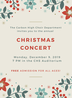 CHS Choir Christmas Concert