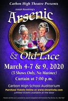 ARSENIC AND OLD LACE: Tickets on Sale NOW!