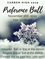 Preference Ball is Coming Saturday, November 16th!