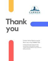 Carbon School District thanks Rocky Mountain Power