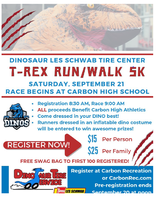 T-REX RUN/WALK 5K