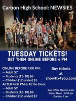 "EXTRA! EXTRA! All Invited to Check Out CHS' Production of ""Newsies"""