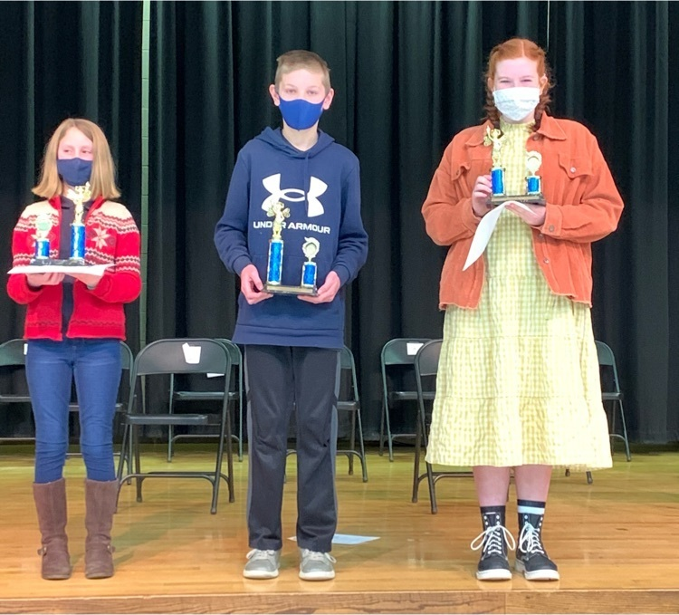 district Bee winners