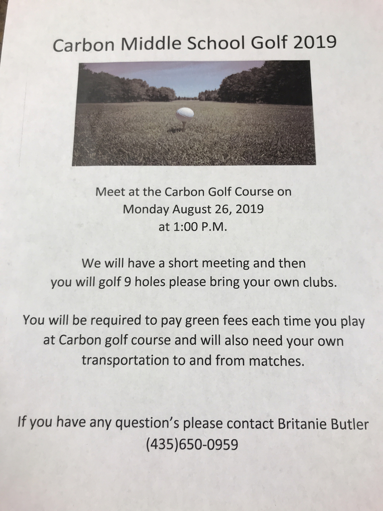 Golf Club information