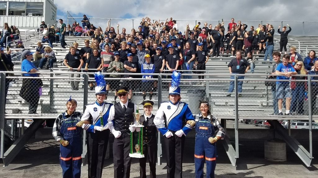 1st place band
