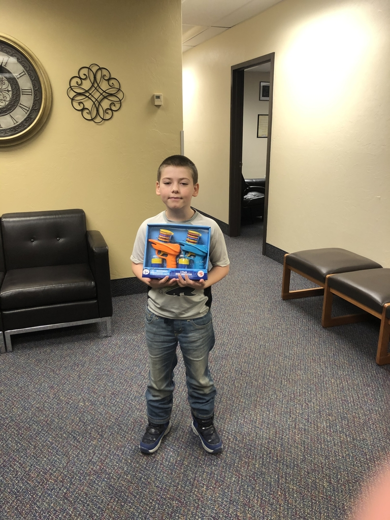 January Perfect Attendance winner!
