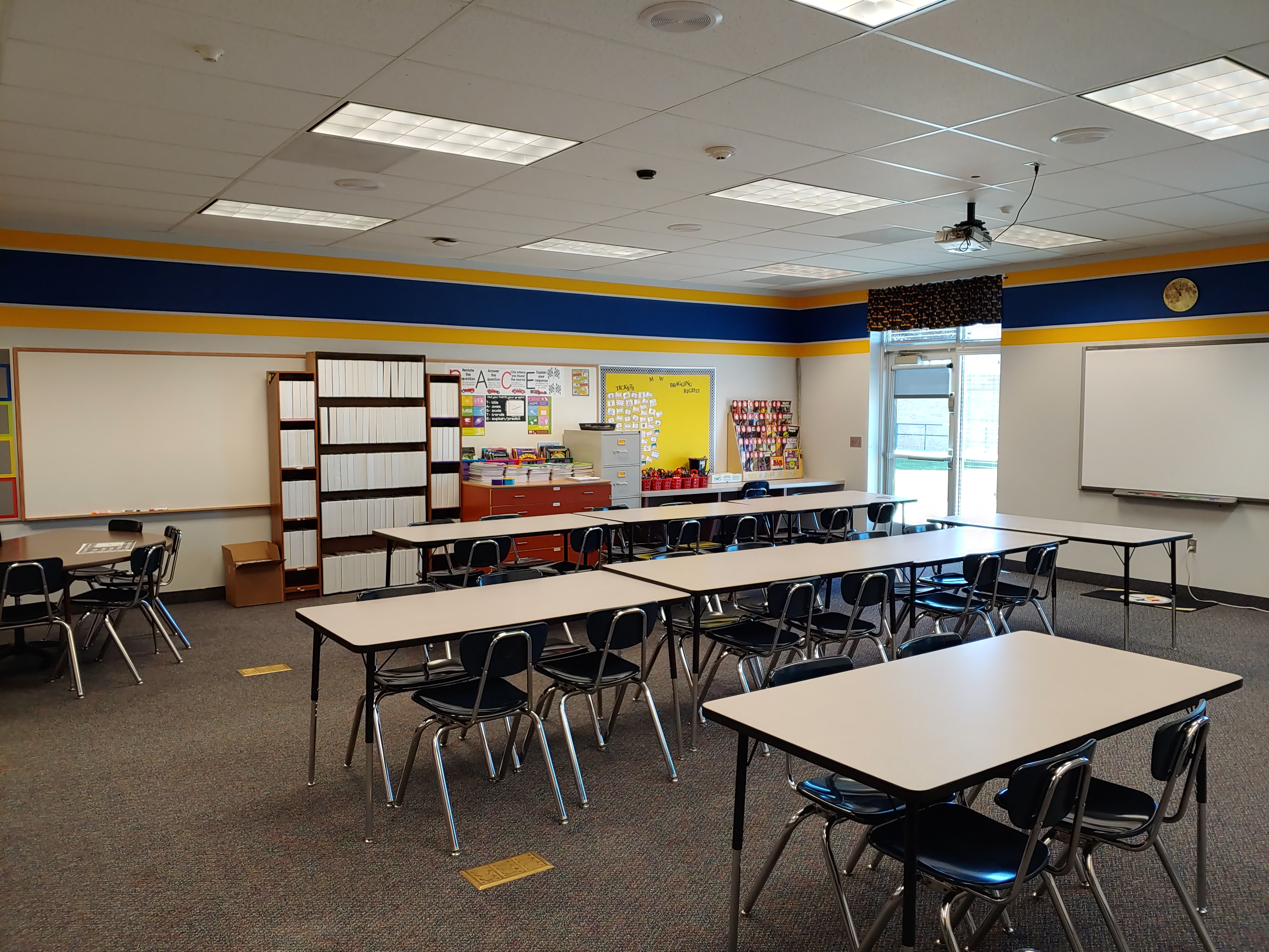 A Classroom at Mont Harmon Middle School